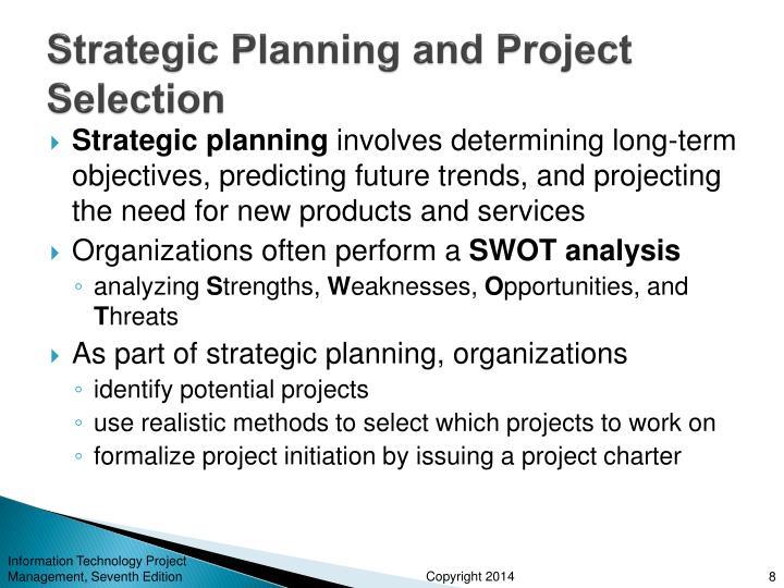strategic planning assignment essay