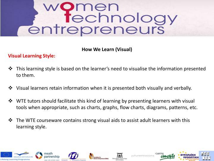 How We Learn (Visual)