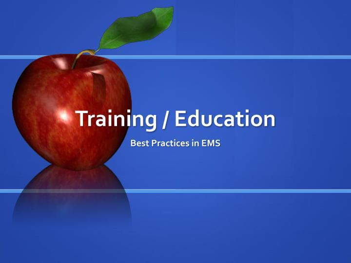Training / Education