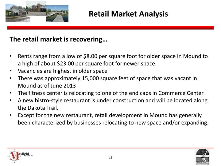 Retail Market Analysis
