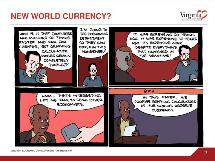 New World currency?