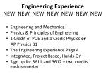 engineering experience new new new new new new new