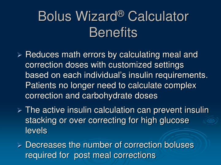 Bolus Wizard