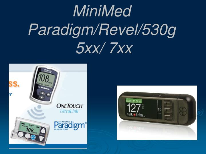MiniMed Paradigm/Revel/530g
