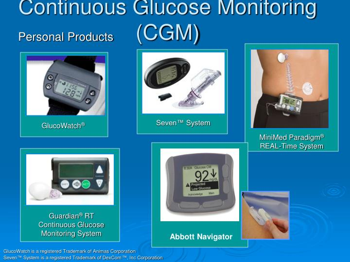 Continuous Glucose Monitoring (CGM)