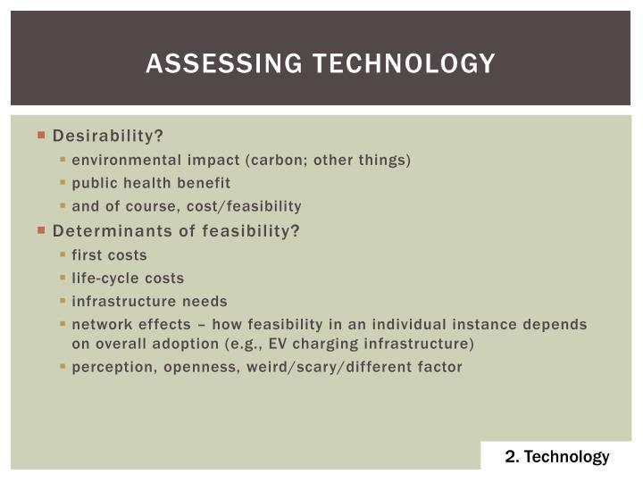 assessing technology