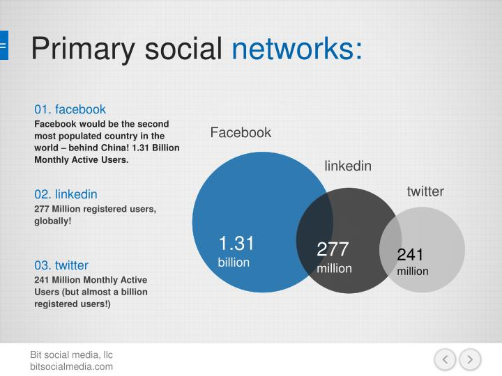 P rimary social networks