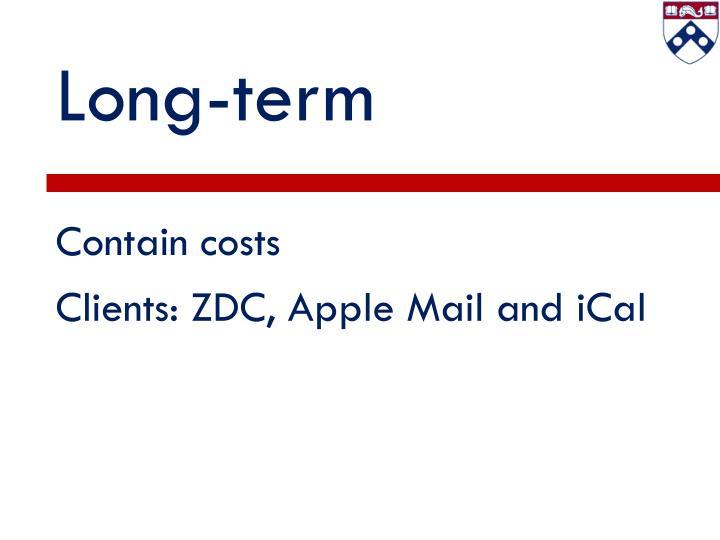 Long-term