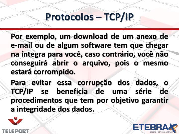 Protocolos – TCP/IP