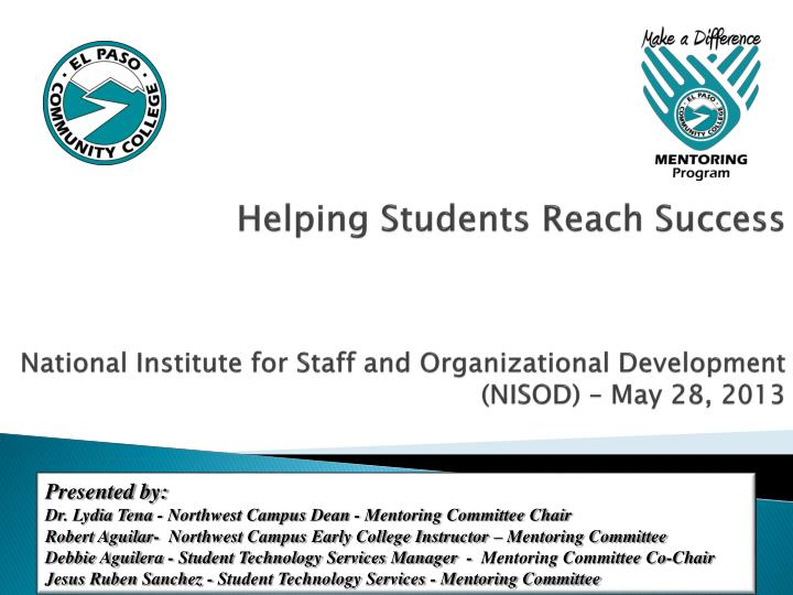 Helping Students Reach Success