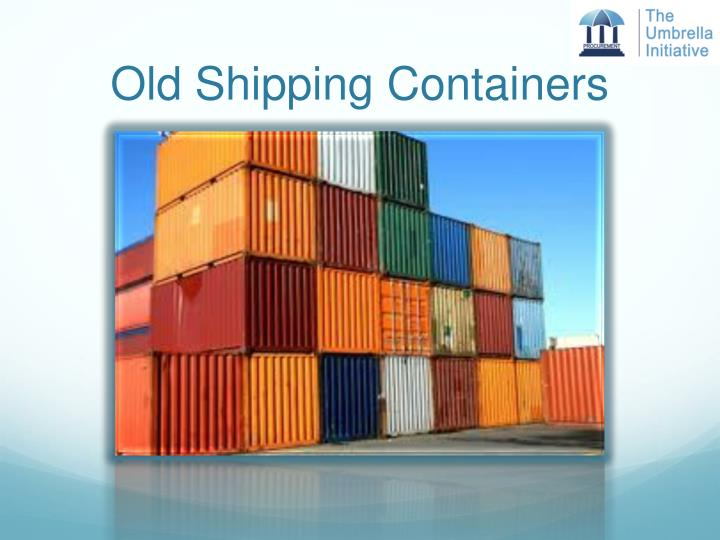 Old Shipping Containers