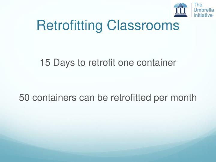 Retrofitting Classrooms