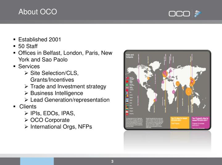About OCO