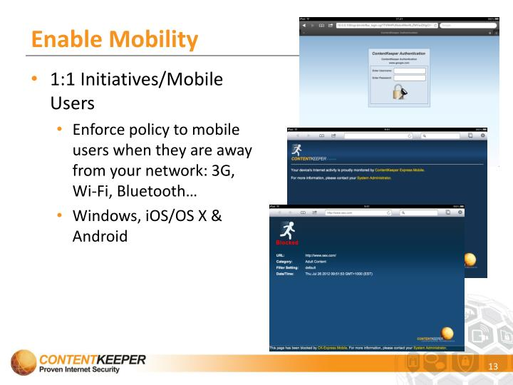 Enable Mobility
