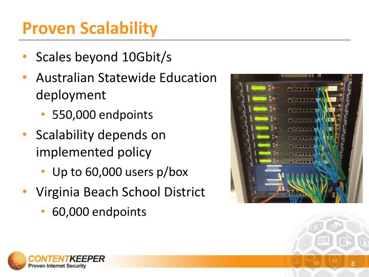 Proven Scalability