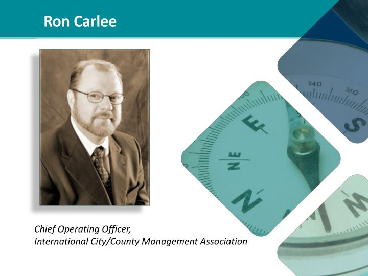 Ron Carlee