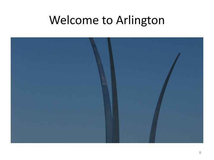Welcome to Arlington