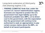 long term extension of third party risk sharing regime 1 2