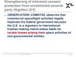 strengthening of informed consent protection from unrestricted second party litigation 3 4
