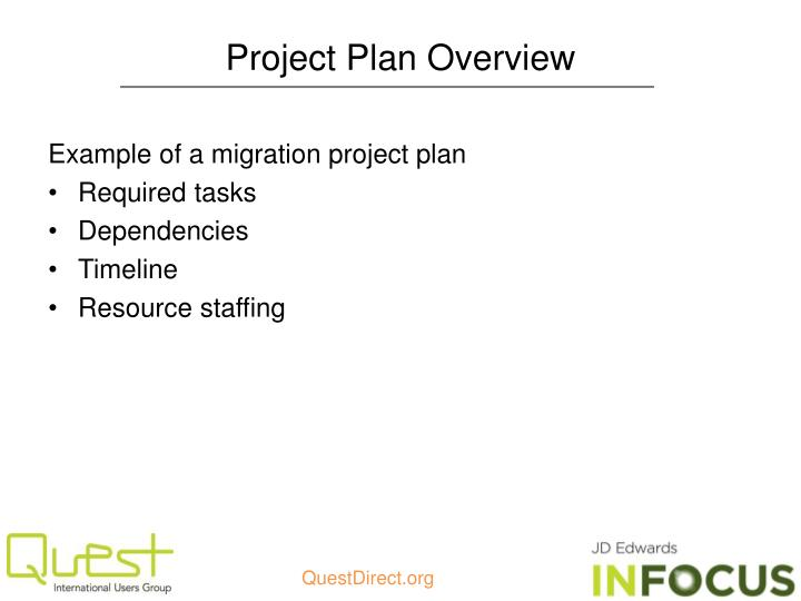 Project Plan Overview