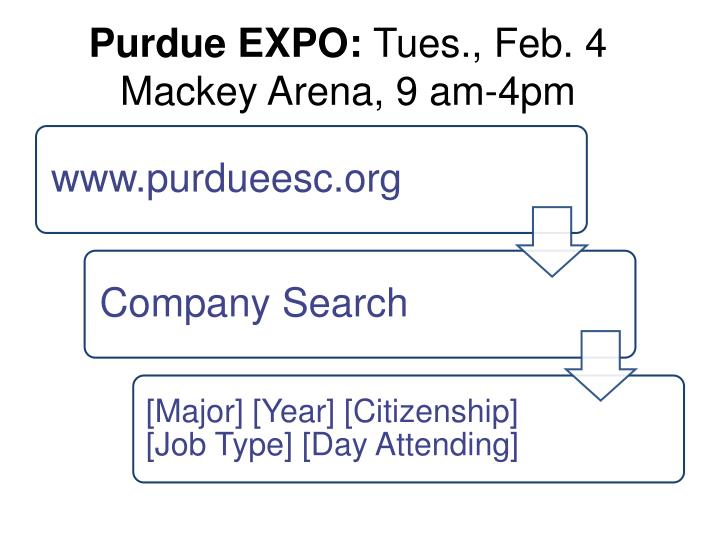 Purdue EXPO:
