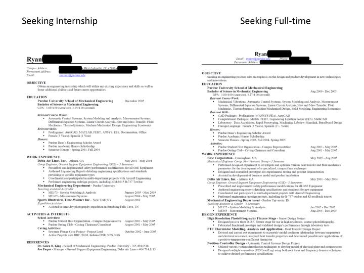 Seeking InternshipSeeking Full-time