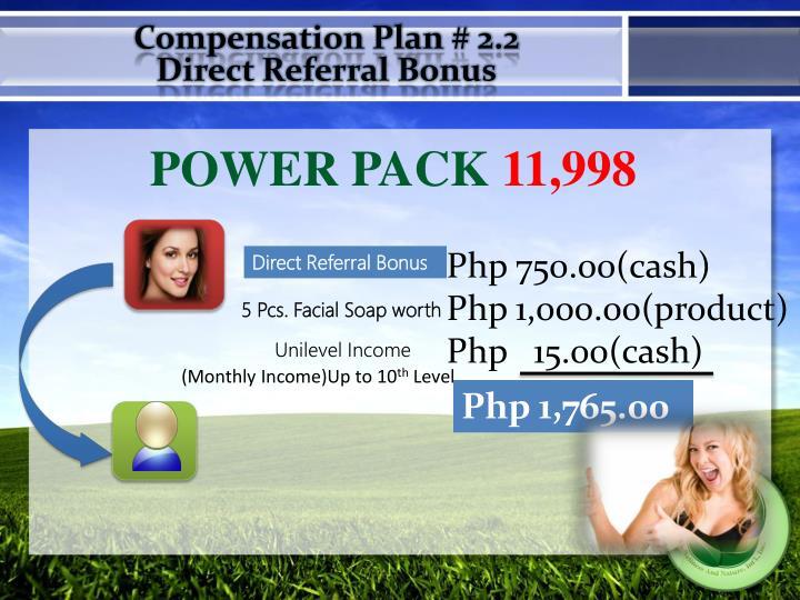 Compensation Plan # 2.2