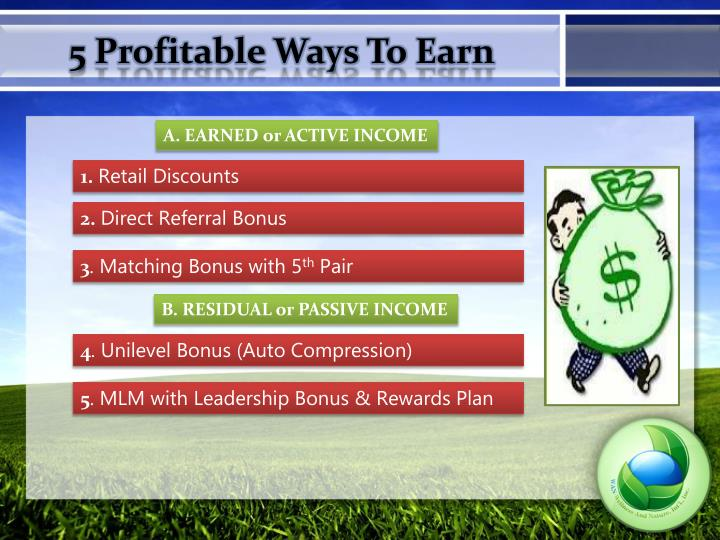 5 Profitable Ways To Earn