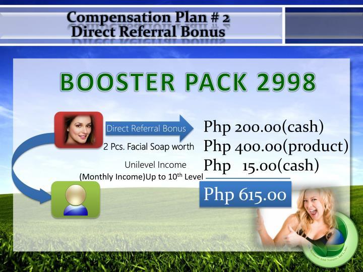 Compensation Plan # 2