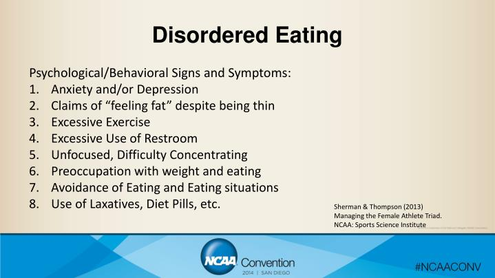 Disordered Eating