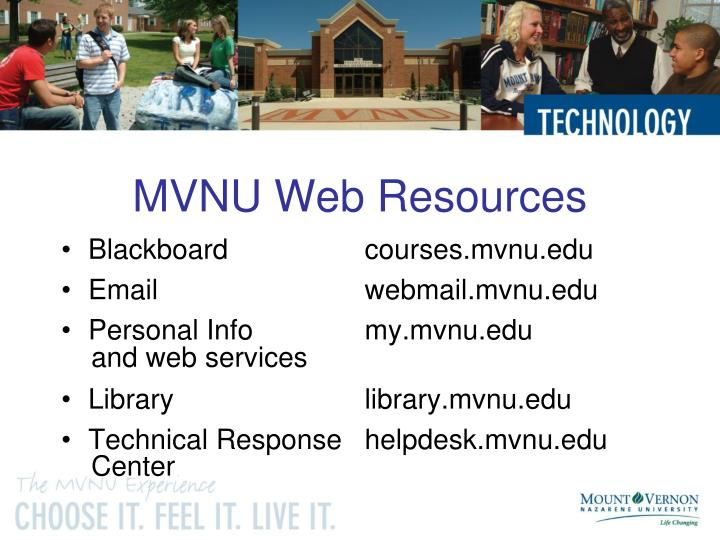 MVNU Web Resources
