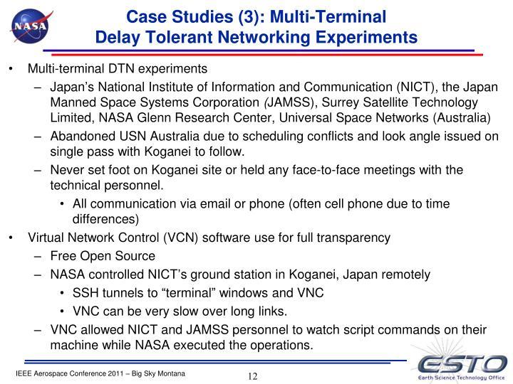 Case Studies (3): Multi