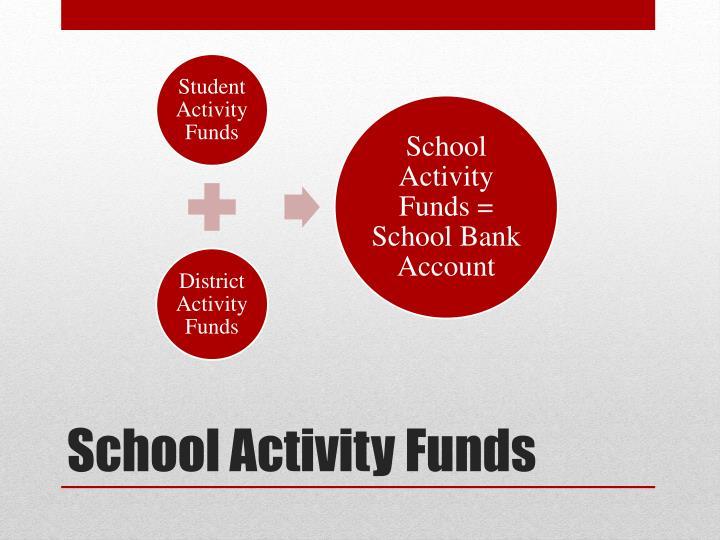 School Activity Funds