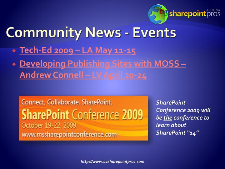 Community News - Events