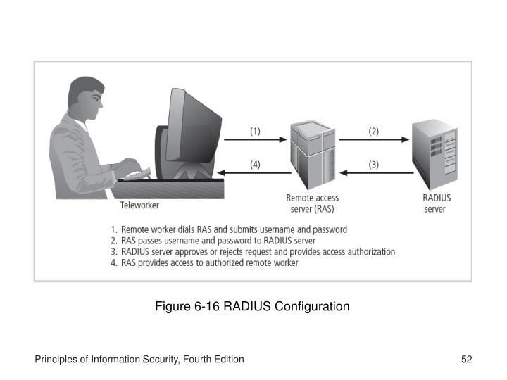 Figure 6-16 RADIUS Configuration