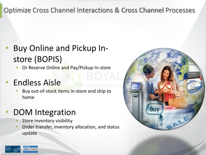 Buy Online and Pickup In-store (BOPIS)