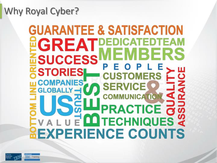 Why Royal Cyber?