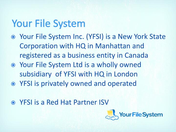 Your File System