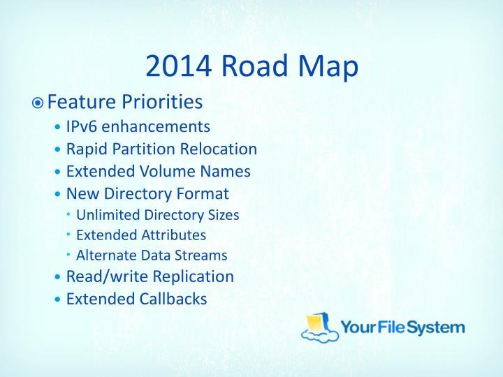 2014 Road Map