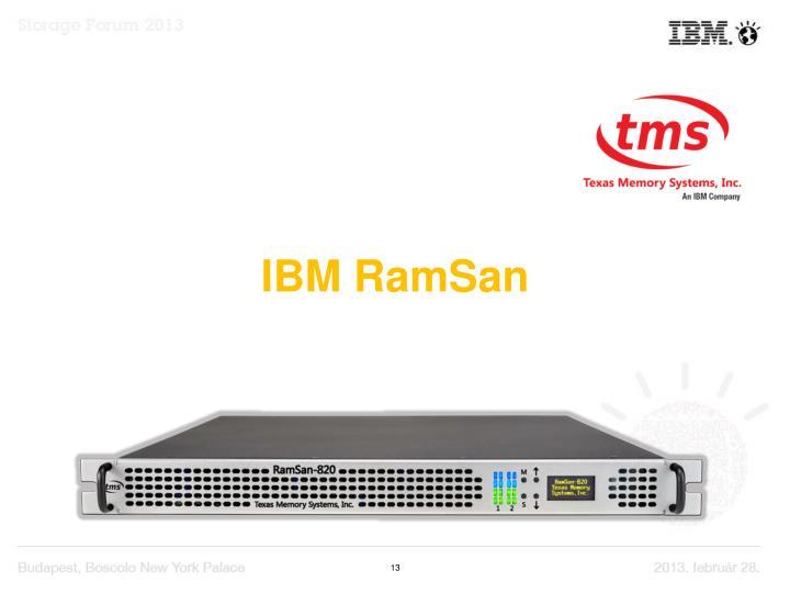 IBM RamSan