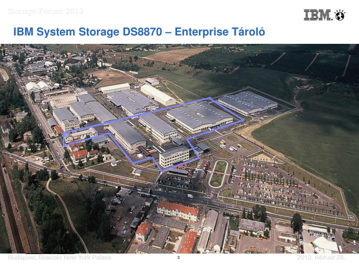 IBM System Storage DS8870 – Enterprise Tároló