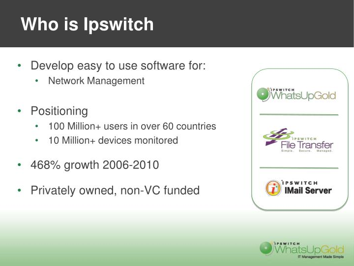 Who is Ipswitch