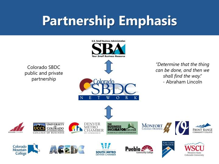 Partnership Emphasis