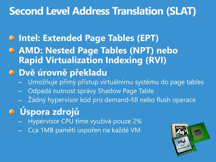 Second Level Address Translation
