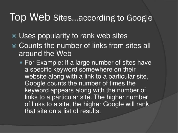 Top Web