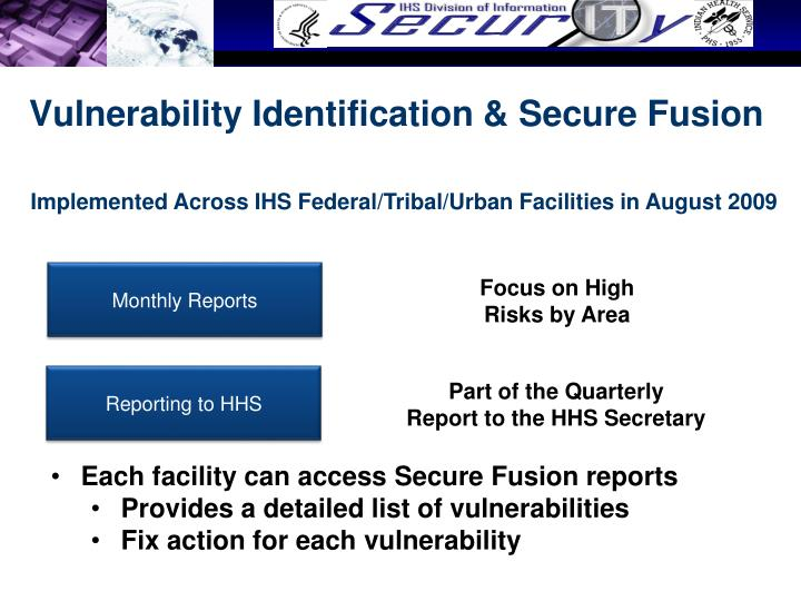 Vulnerability Identification & Secure Fusion