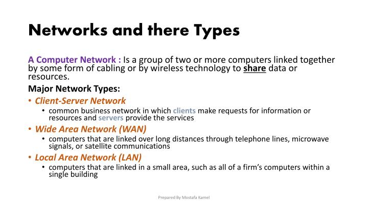 Networks and