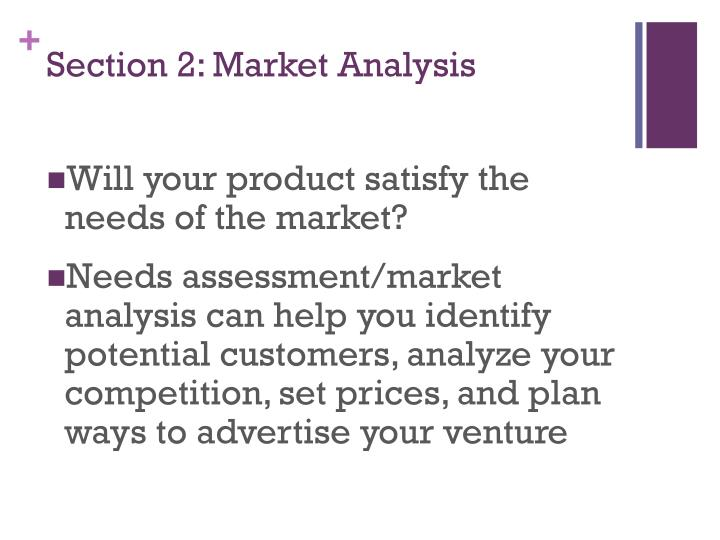 Section 2: Market Analysis