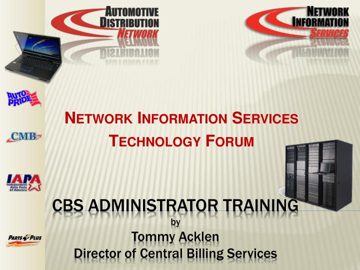 Network information services technology forum