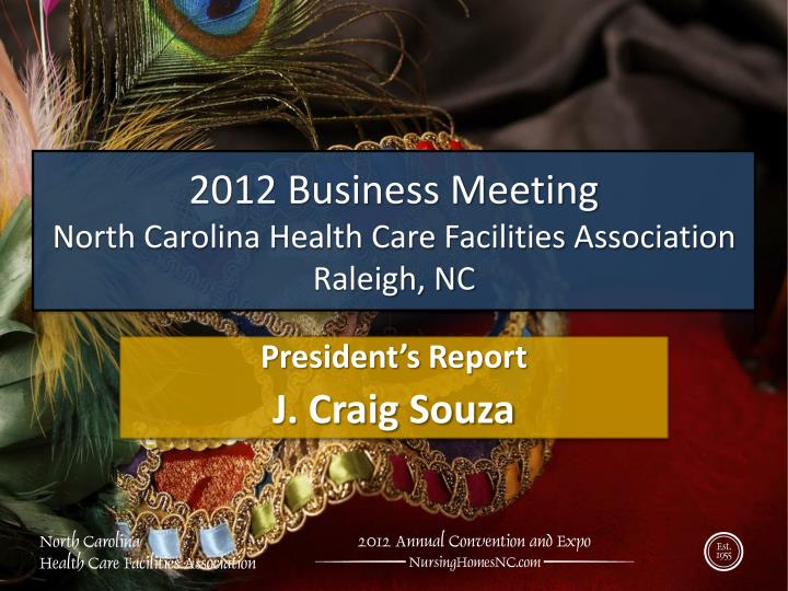 2012 Business Meeting